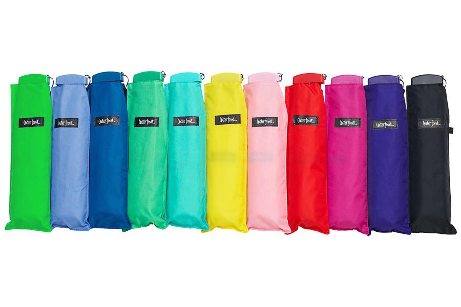 ポケフラット50無地カラー手元折りたたみ傘