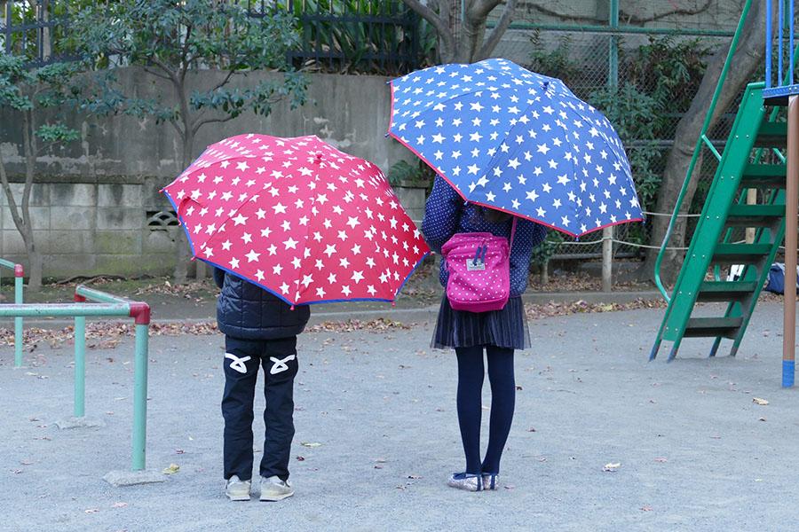 キッズスター子供長傘