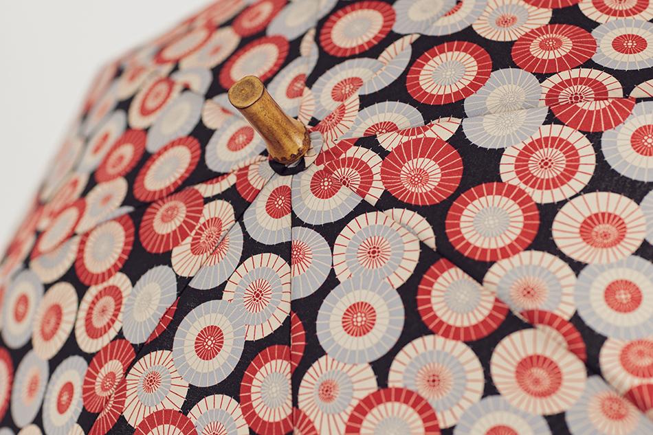 シッククローバー傘柄の傘